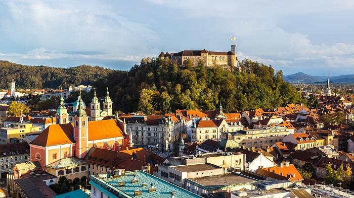 Thủ đô Slovenia Ljubljana