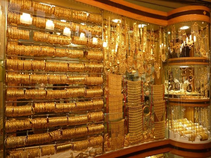 Điểm bán vàng tại Dubai