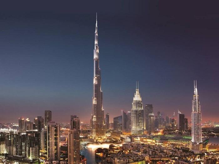 tháp Burj Khalifa cao nhất thế giới