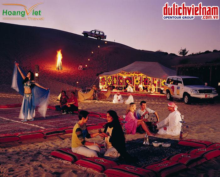 Tiệc trên sa mạc Safari
