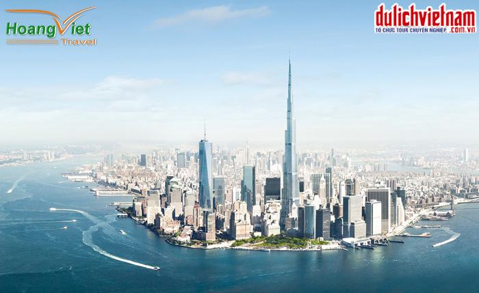 Tòa tháp cao nhất Dubai