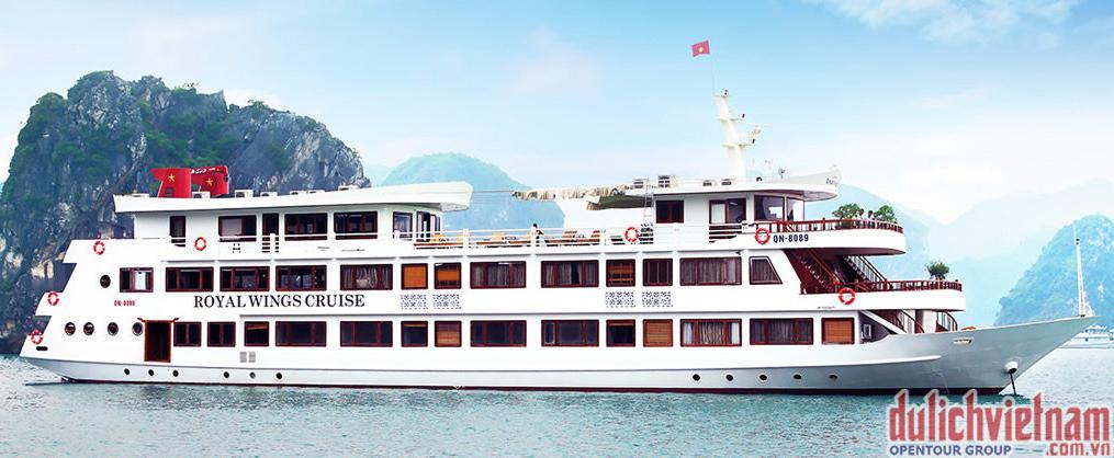 Tổng quan du thuyền Royal Wings Cruise