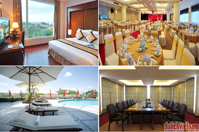 Khách sạn 4 sao ở Huế với vẻ sang trọng và đầy đủ tiện nghi