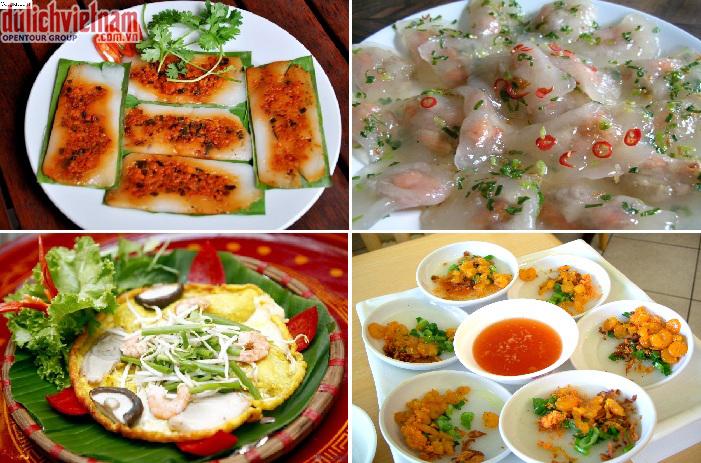 Rất nhiều món ăn đặc sản hấp dẫn của Huế cho du khách thưởng thức