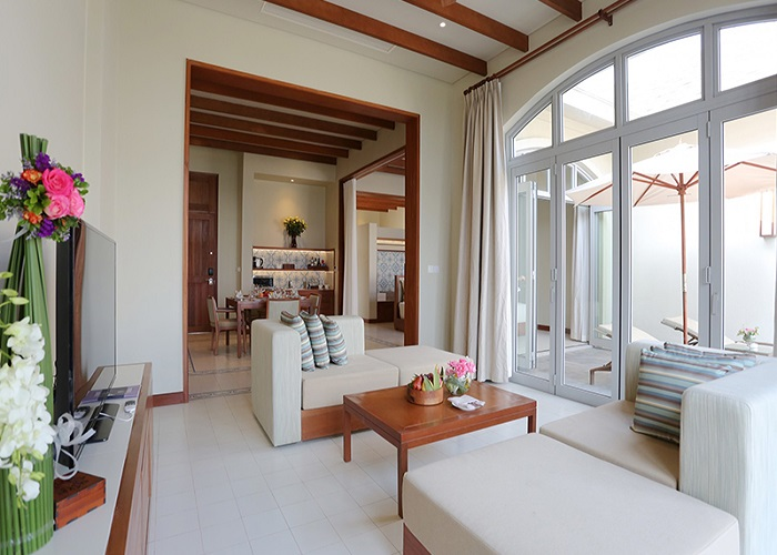Phòng khách FLC Sầm Sơn Resort 5 sao