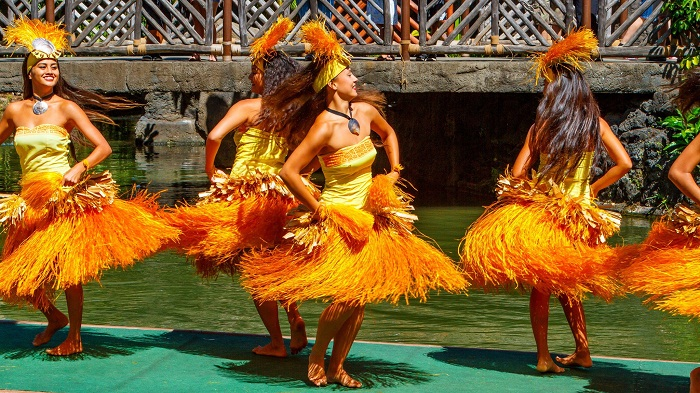 Polynesian Dancing Showing