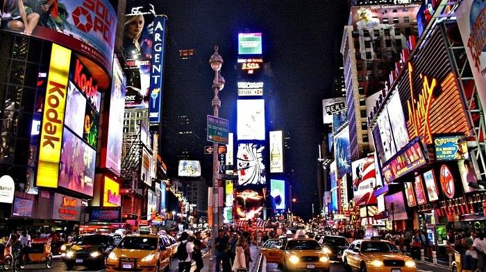 Quảng trường Thời đại - Time Square