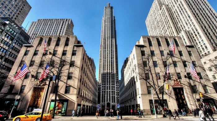 Trung tâm Rockefeller tại Midtown Manhattan