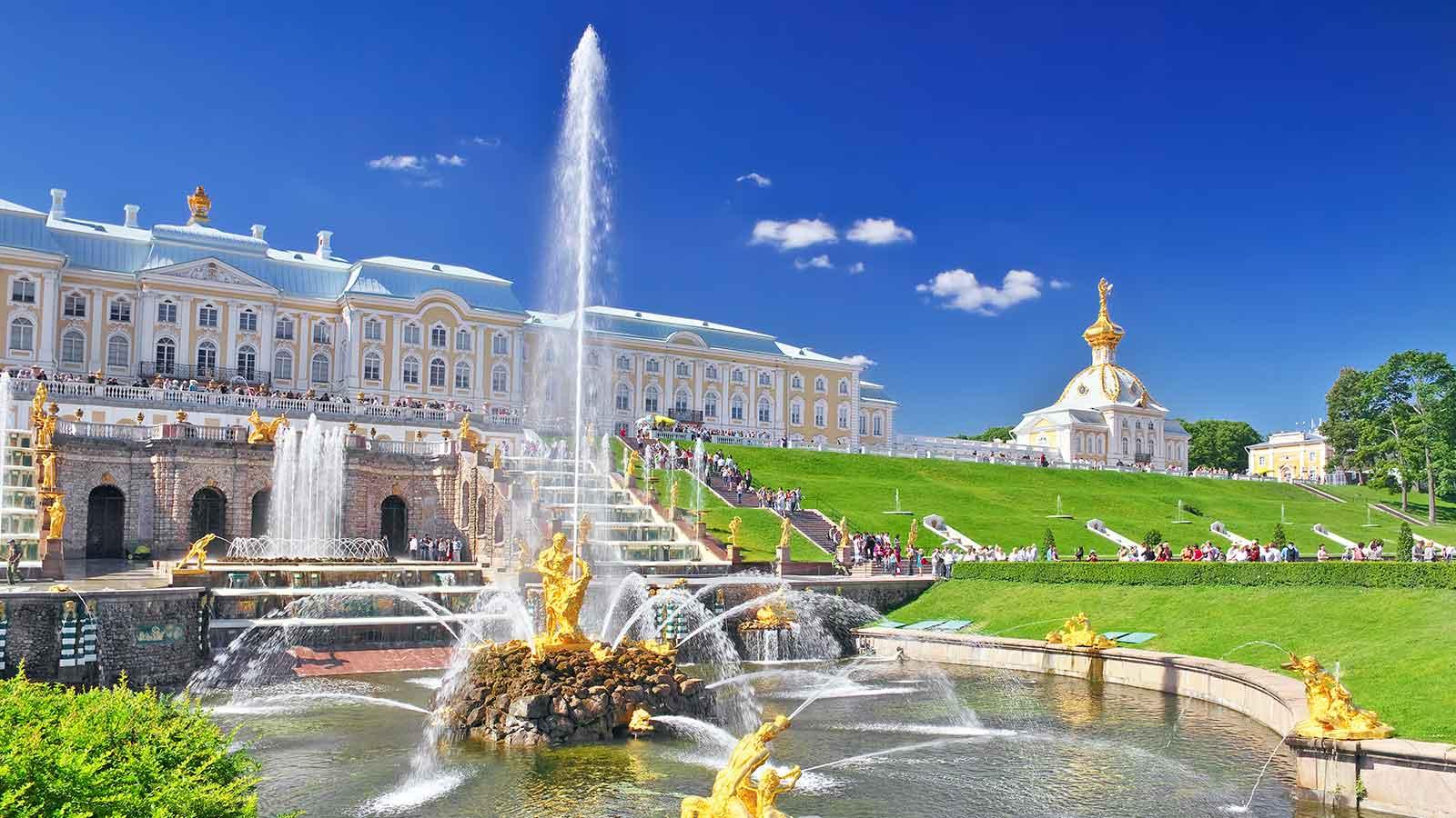 Kết quả hình ảnh cho cung điện mùa hè nga