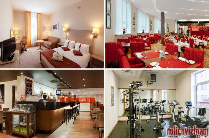 Khách sạn với đầy đủ tiện nghi, đáp ứng mọi nhu cầu thiết yếu của du khách