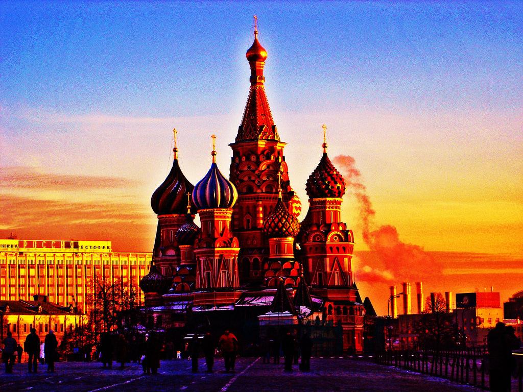 Nhà Thờ Thánh Vasily Nga