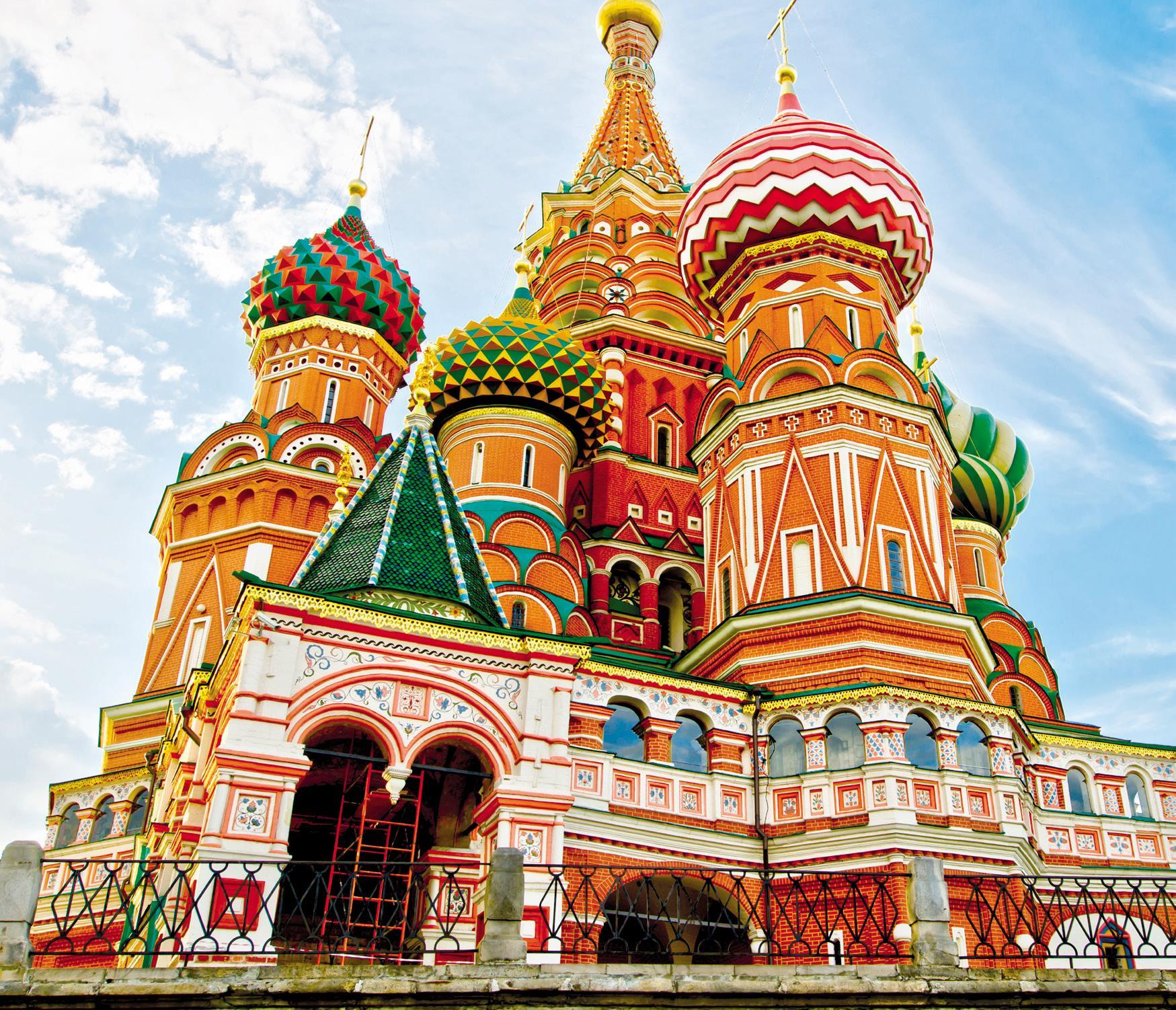Nhà Thờ Thánh Basil Nước Nga