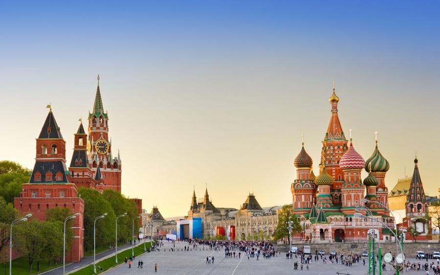 Toàn Cảnh Nước Nga Nhìn Từ Xa