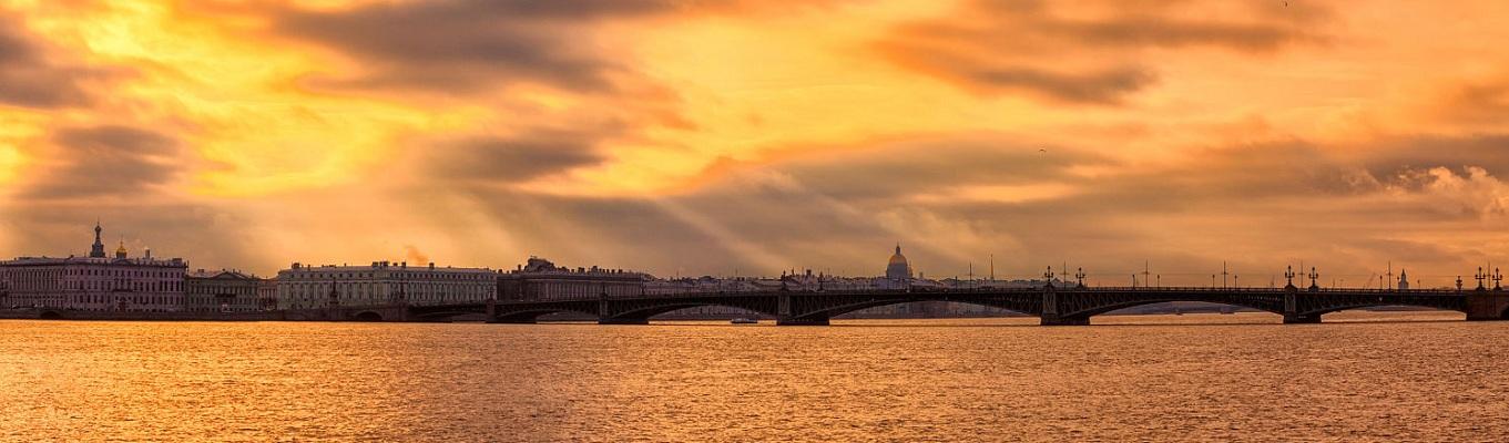 Sông Neva Nước Nga