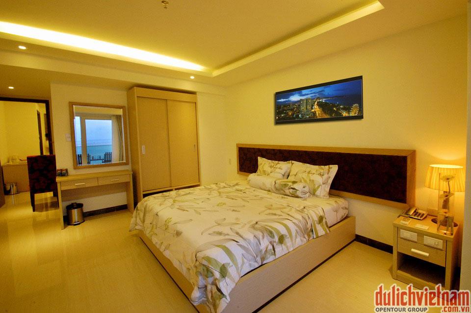 Phòng ngủ sang trọng, du lịch nha trang