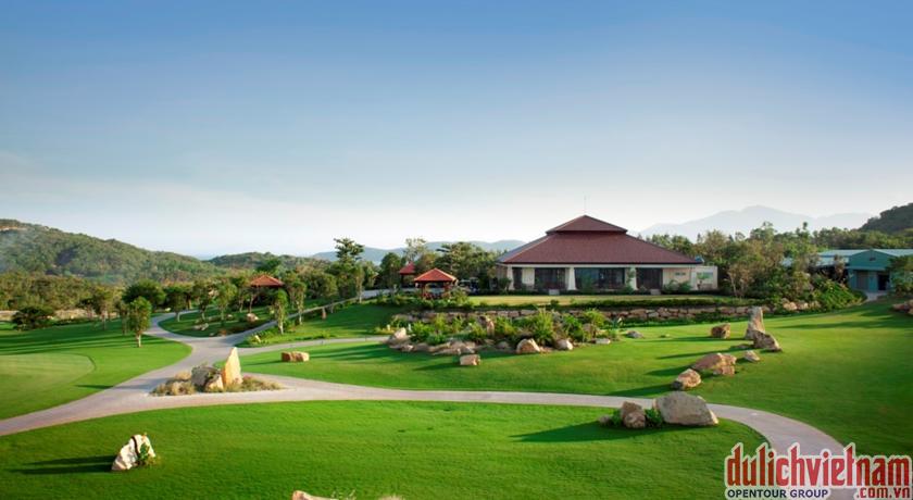 du lịch nha trang - Không gian bên ngoài khách sạn Vinpearl