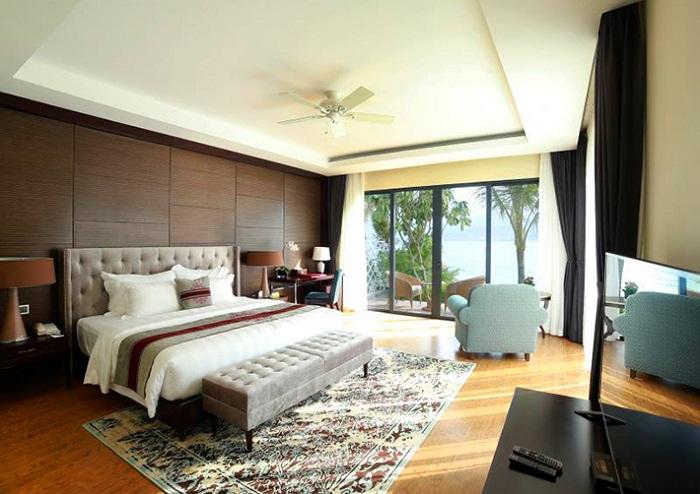 Phòng nghỉ sang trọng của Vinpearl Resort Nha Trang