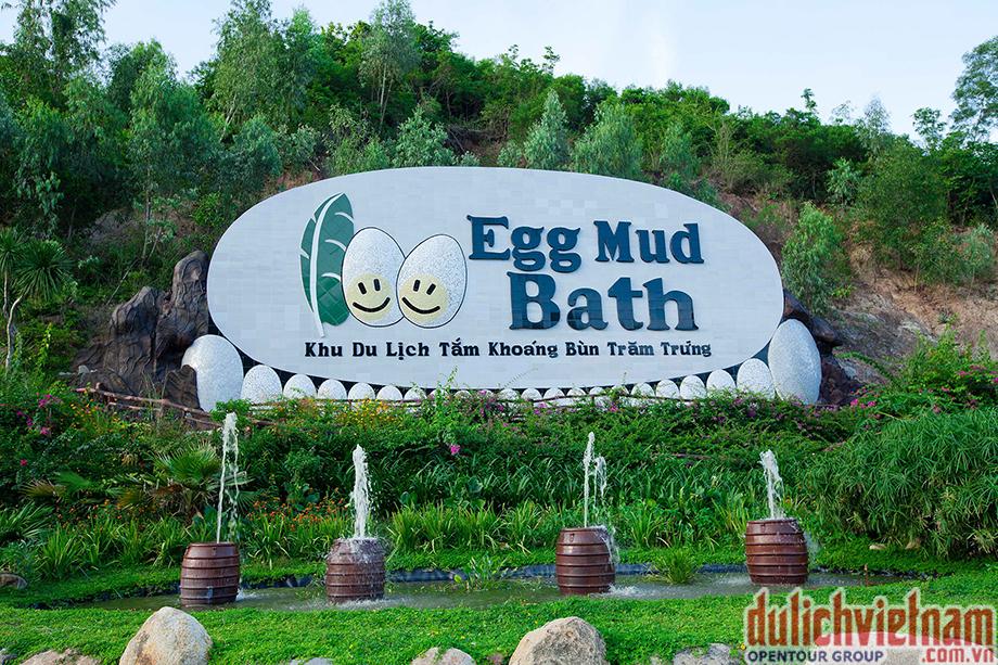 Trung tâm tắm Khoáng bùn trăm trứng