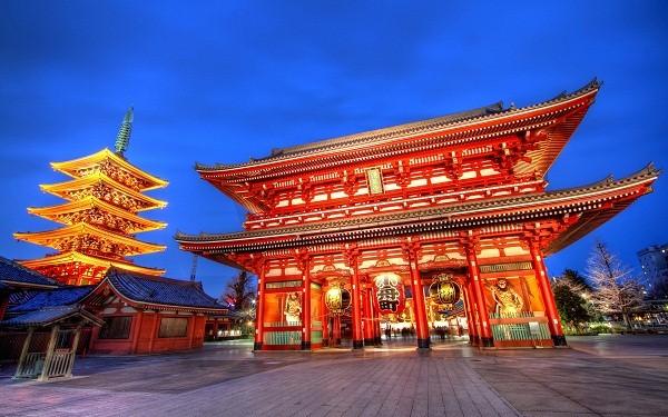 Image result for Khu phố cổ Asakusa