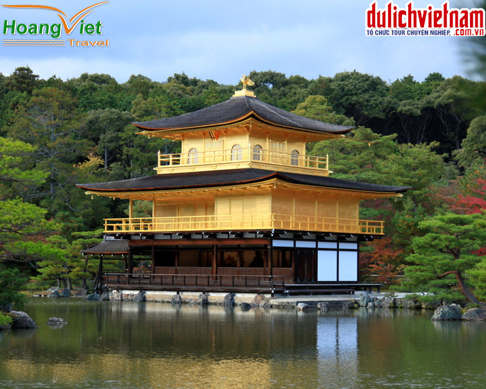 Chùa Vàng ở Kyoto