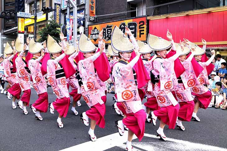 Lễ hội Awa Odori Matsuri