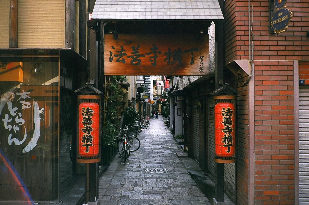 Khu phố Hozenji Yokocho