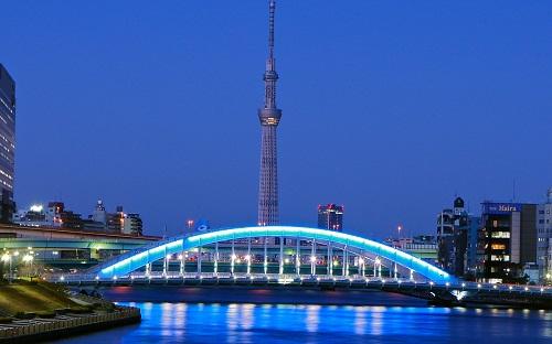 Kết quả hình ảnh cho Tháp truyền hình Tokyo Sky Tree