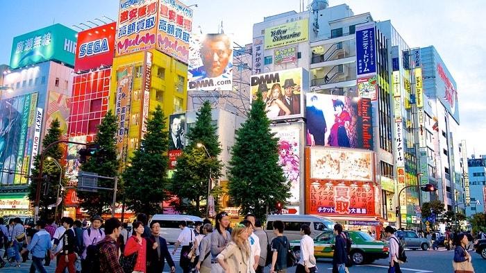 khu-phố-điện-tử- Akihabara