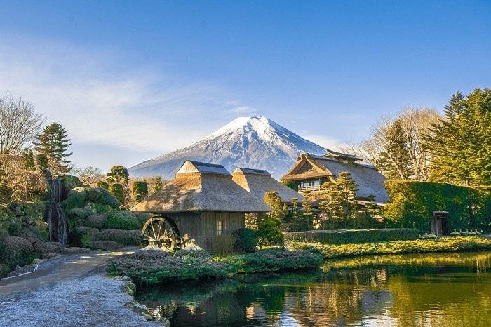 làng-cổ-Oshino
