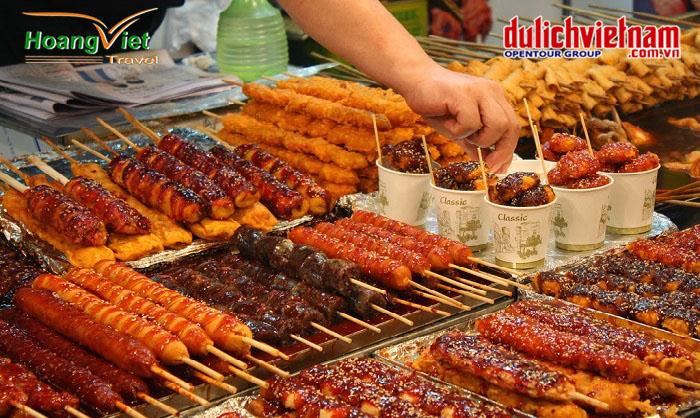món ăn đường phố Nhật Bản