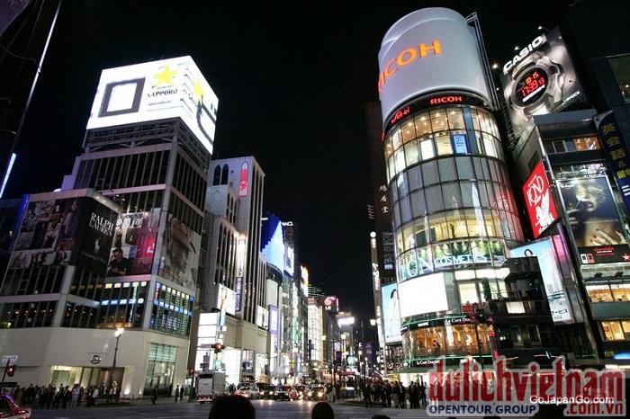 Khu thương mại Ginza