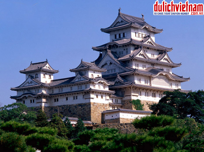 Hoàng Cung Nhật Bản - nơi ở của Nhật hoàng