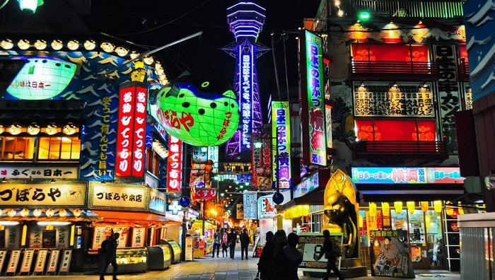 khu phố Shinsekai