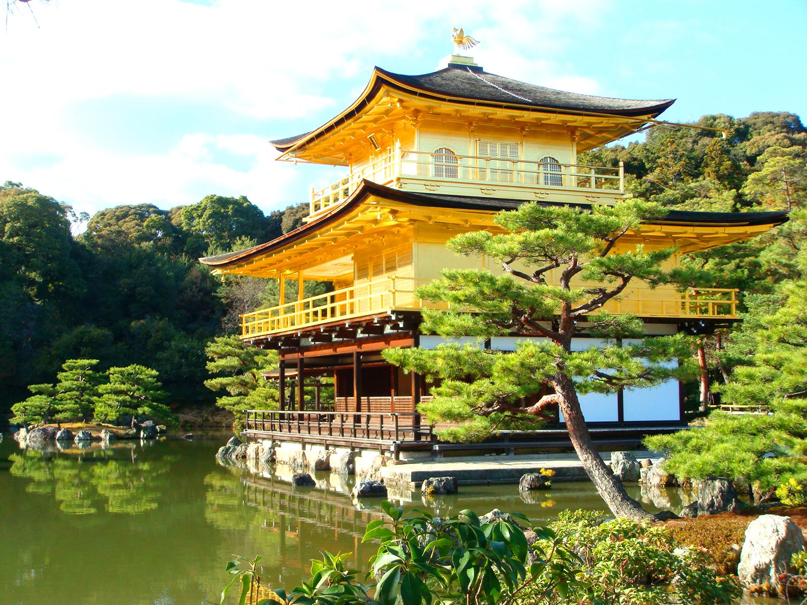chùa vàng Kinkakuji