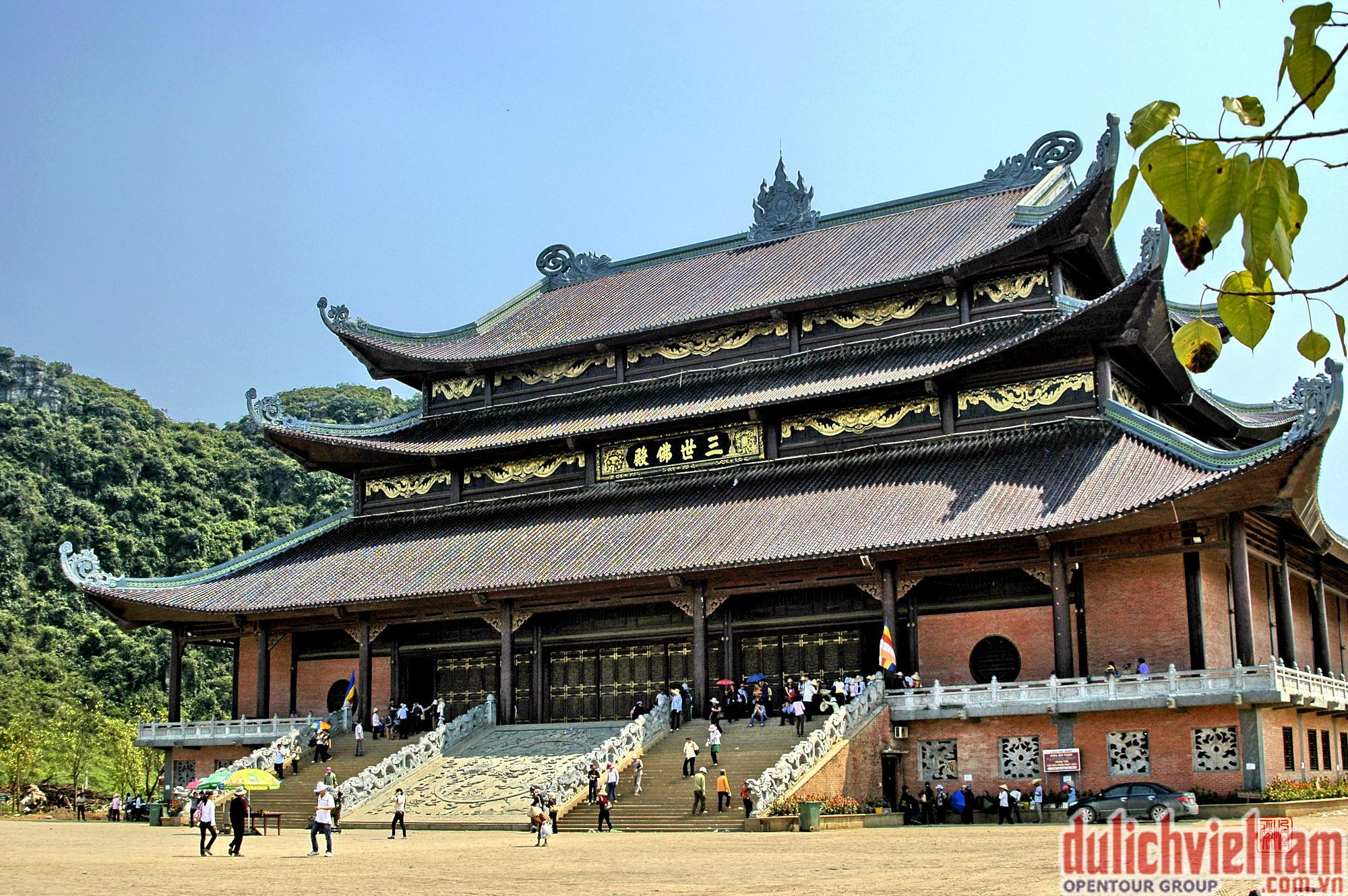 Chùa Bái Đính - Ngôi chùa lớn nhất khu vực Đông Nam Á