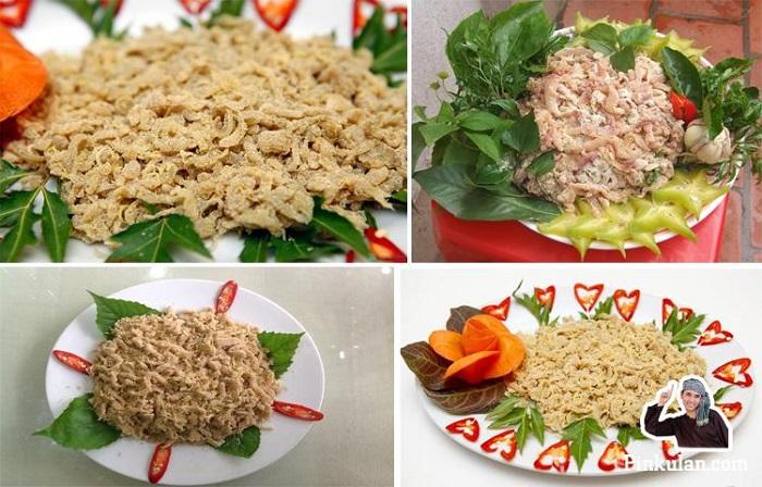 Gỏi cá nhếch Kim Sơn thơm ngon