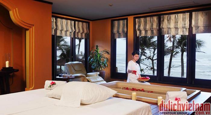 Phòng nghỉ sang trọng, tiện nghi của Sunspa Resort