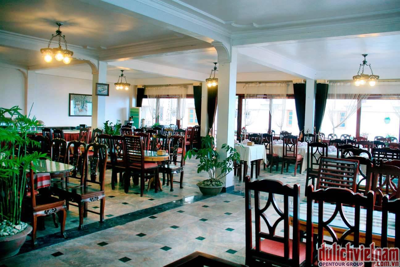 Nhà hàng Mường Hoa phục vụ rất nhiều món ăn đặc sản của Sapa