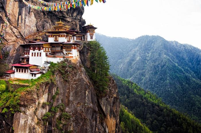 Vẻ đẹp kỳ vĩ của đất nước Bhutan