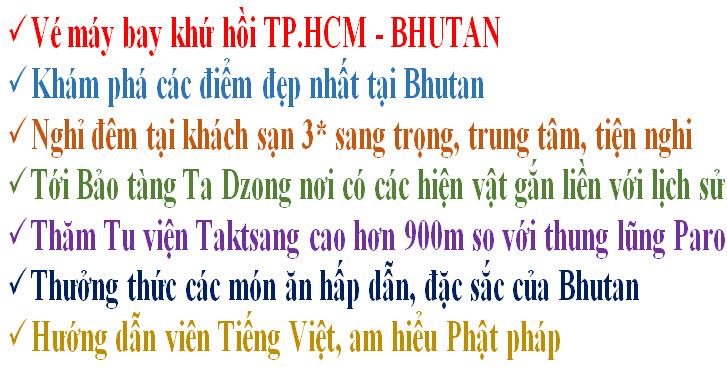 note hot hành hương bhutan
