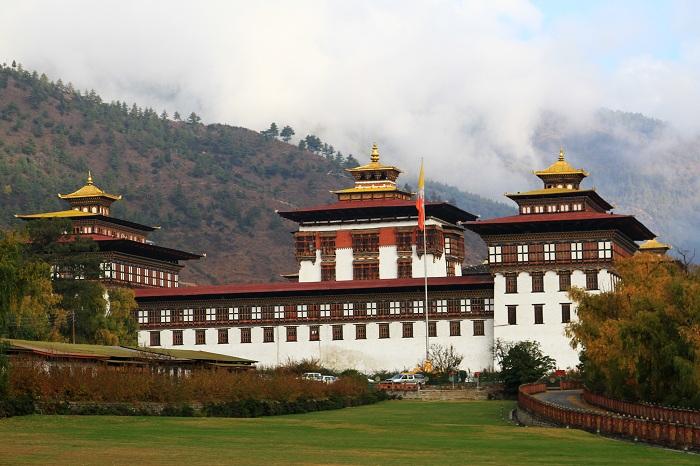 Pháo đài Tashichho Dzong