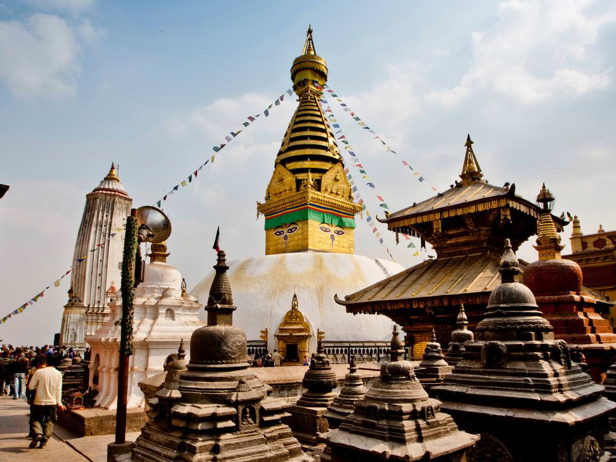 Tháp Swayambhunath