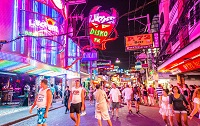 Phố Walking Street Pattaya