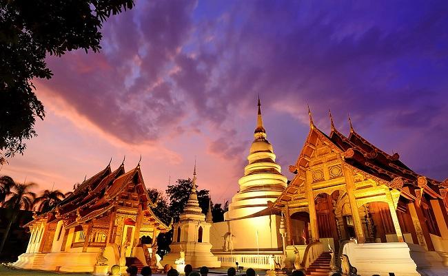 [Chia sẻ] Khám phá du lịch Wat Phra Singh, Chiang Mai, Thái Lan