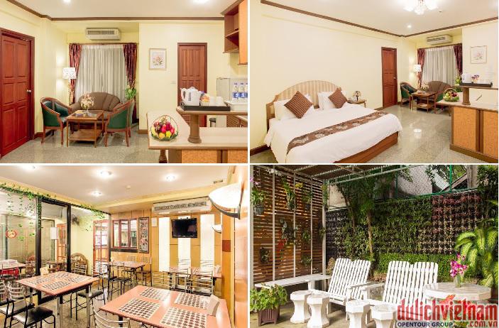 Khách sạn sang trọng với đầy đủ tiện nghi