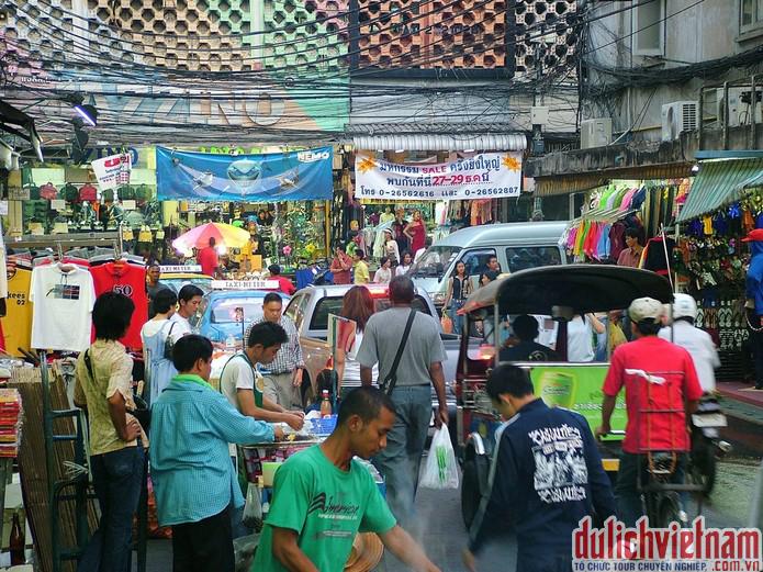 Mua sắm Thái Lan