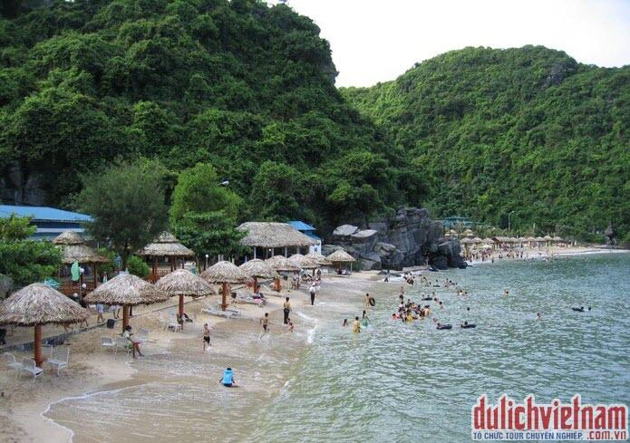 Tắm biển Tuần Châu