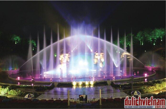 Biển diễn nhạc nước ở Tuần Châu