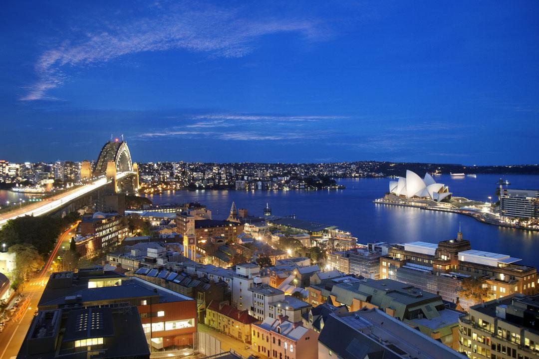 Toàn cảnh thành phố Sydney