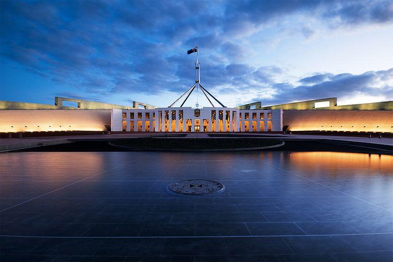 Tòa nhà Quốc hội mới của Úc